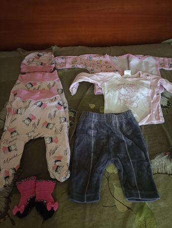 Пакет одягу для дівчинки від 0-3