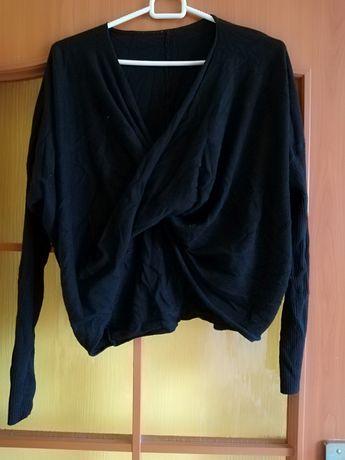 Czarny sweter r M/L