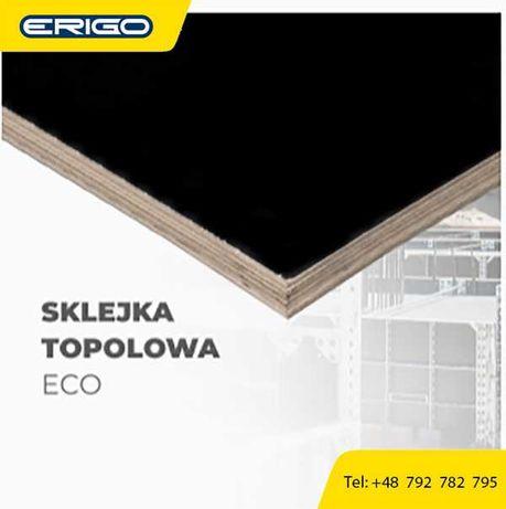 ERIGO Radlin sprzedaż SKLEJKA TOPOLOWA ECO+ 2500x1250x21