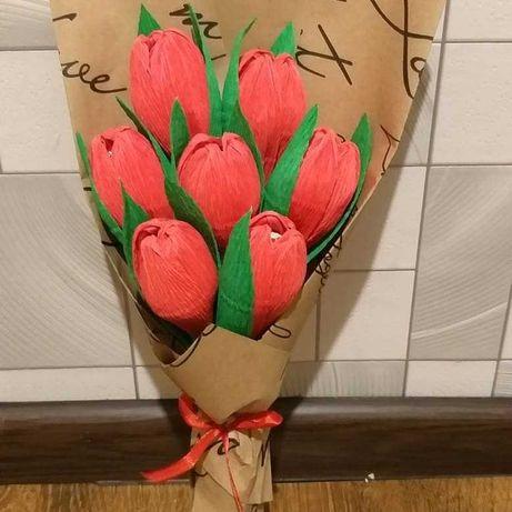 Солодкі букети квітів