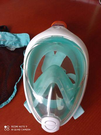 Maska pełnotwarzowa do snurkingu
