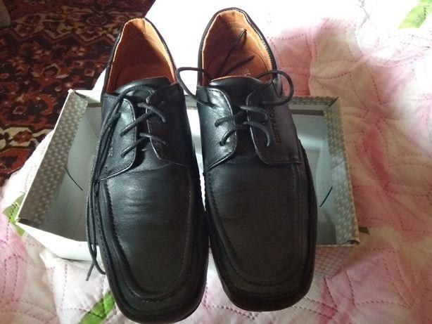 Туфли кожанные мужские