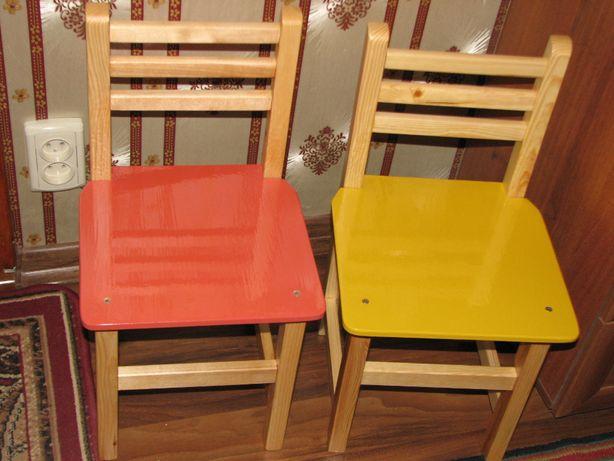 стульчики деревянные детские