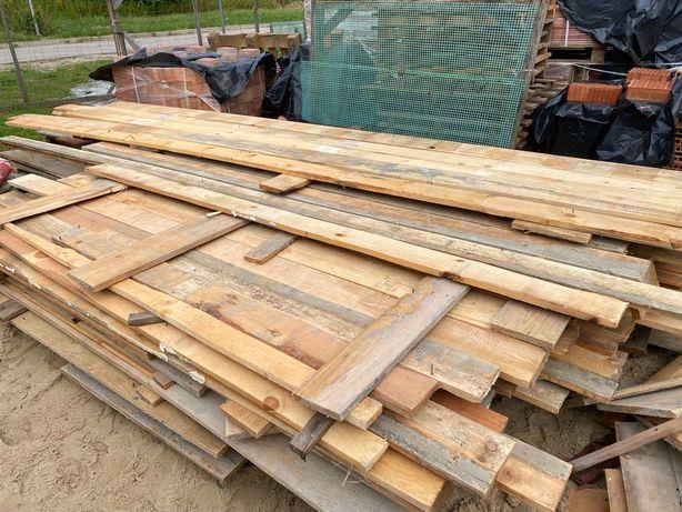 Deski szalunkowe budowlane