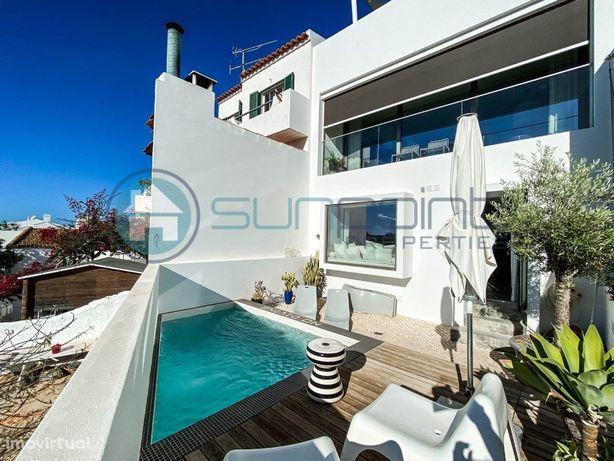 Moderna Moradia com 3 quartos com Piscina e Vista Campo e...