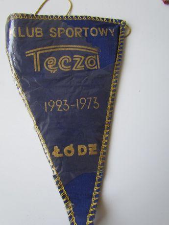 Proporczyk Klub Sportowy TĘCZA Łódź 1923/1973