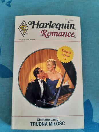 """Trudna miłość"" Charlotte Lamb Harlequin"
