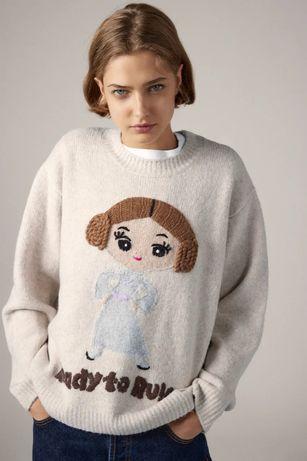 HIT! Zara M nowy poszukiwany sweter oversize Star Wars