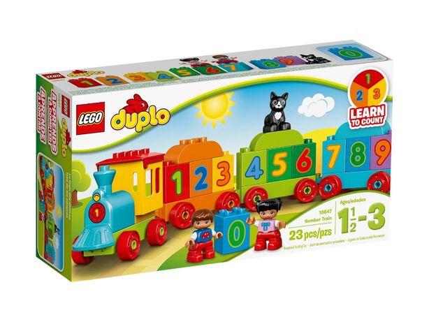 Nowy LEGO Duplo Pociąg 10847 (dowóz gratis)