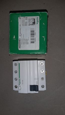 Wyłącznik różnicowoprądowy 4P 63A 0,03A typ AC A9Z05463  Schneider