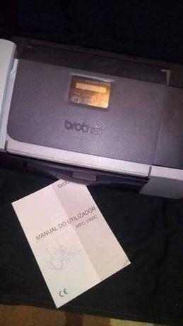Impressora e fax Brother MFC-3360C Com pouco uso