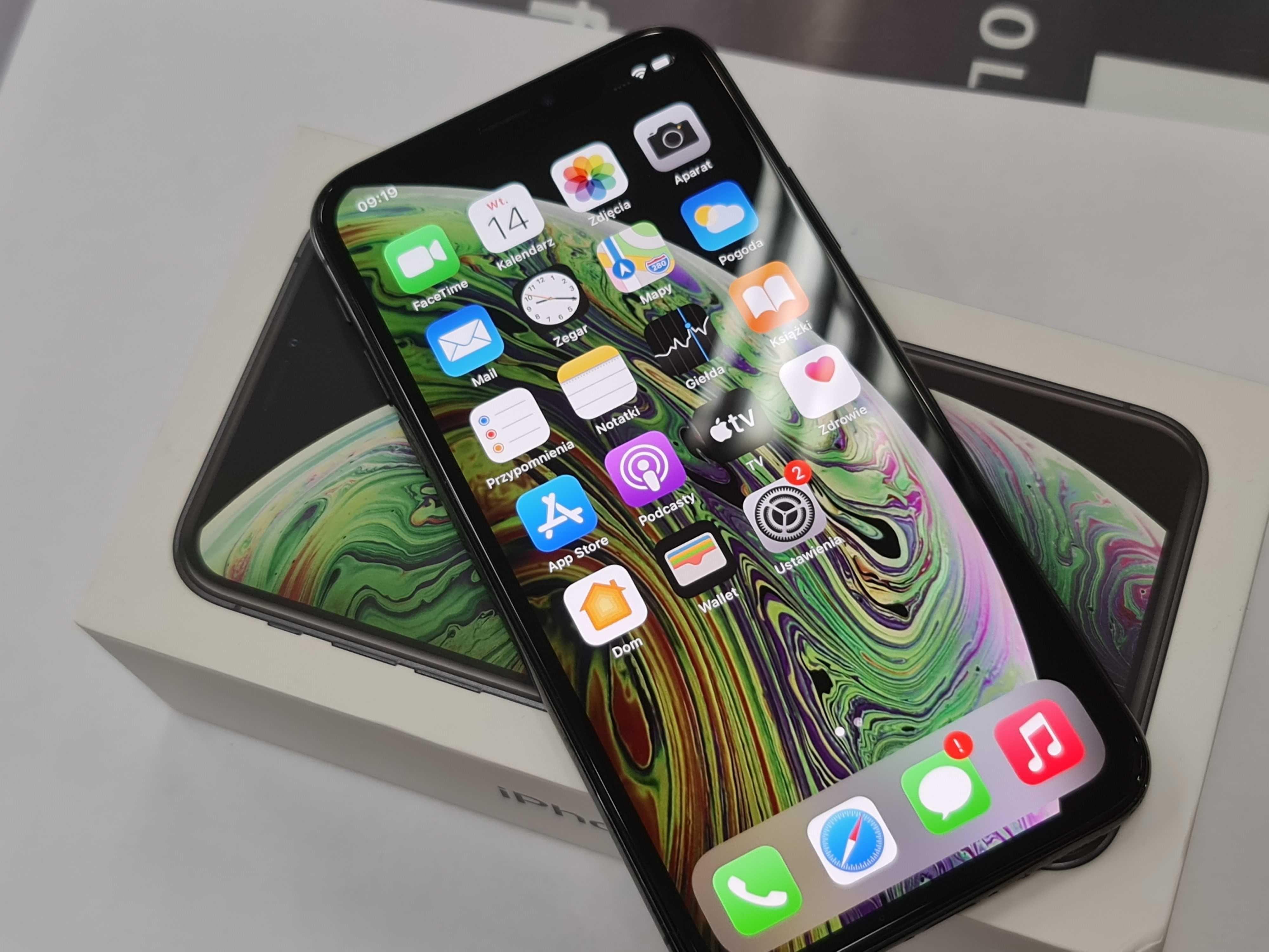 Iphone XS 64GB/ Space Gray/ defekty/ czytaj uważnie opis
