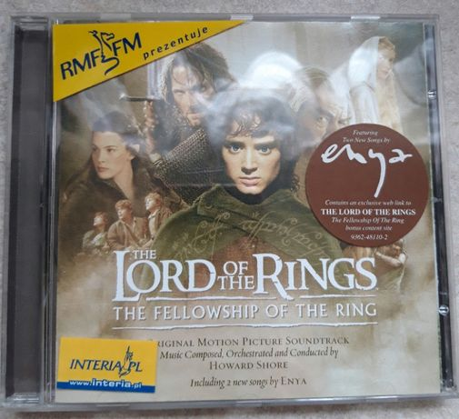 The Lord Of The Rings: The Fellowship Of The Ring CD
