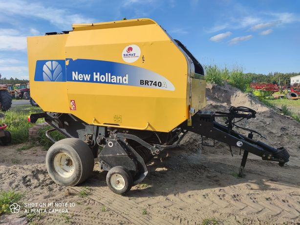 Prasa New-Holland BR 740A 2006r.