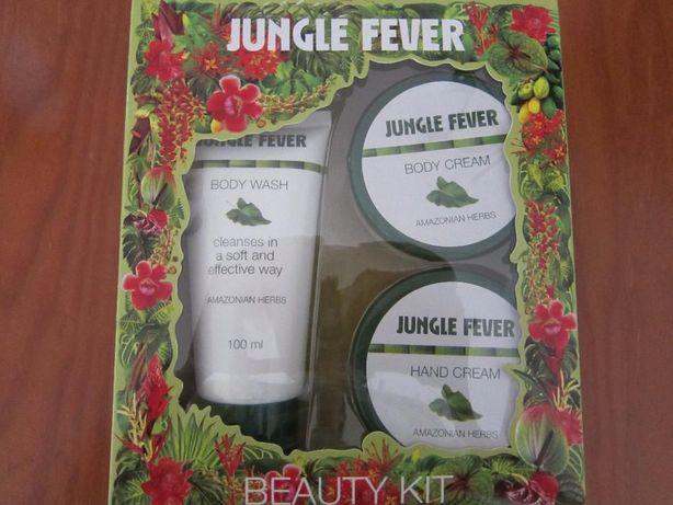 Conjunto de Banho Wells Jungle Fever Trio - gel de duche, creme corpor