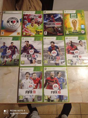 FIFA, PES 2009, Topspin4, Table Tennis Xbox 360