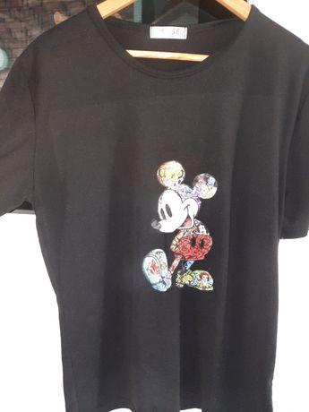 Damski T-shirt L/XL MYSZKA miki Disney