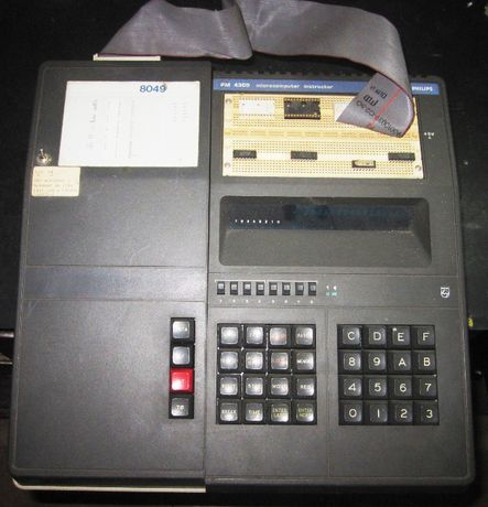Philips microcomputer instructor