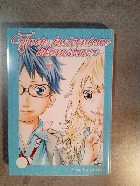 Manga Twoje kwietniowe kłamstwo Tom 1
