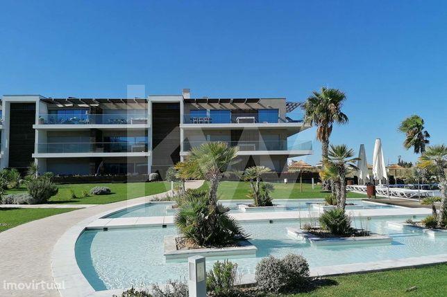 Apartamento  T2 com vista Rio e Terraço na Praia do Sal, Alcochete