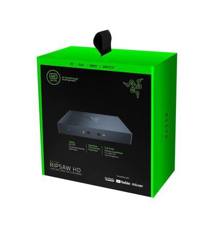 Устройство видеозахвата Razer Ripsaw HD, карта видео захвата
