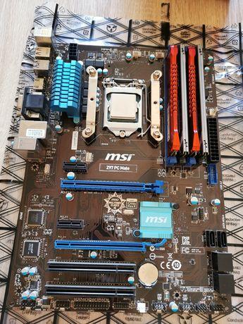 I5 4670K + MSI Z97 PC Mate + 16Gb RAM + Chłodzenie