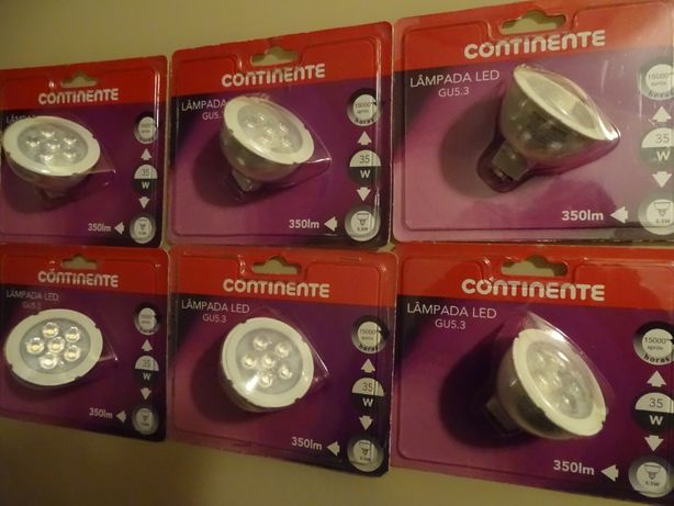 Lâmpadas LED GU5.3 5,5W