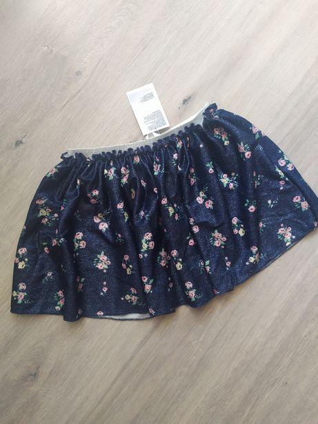 Новая юбка н&м hm 2-4 года