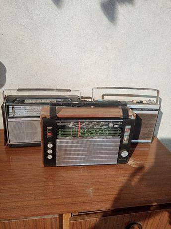 3 rádios antigos