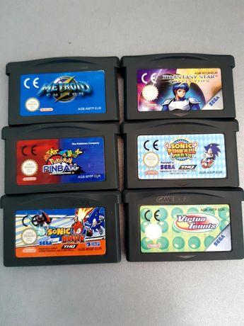 Jogos Game Boy Advance/GBA: Metroid, Phantasy Star, Pokemon, Sonic