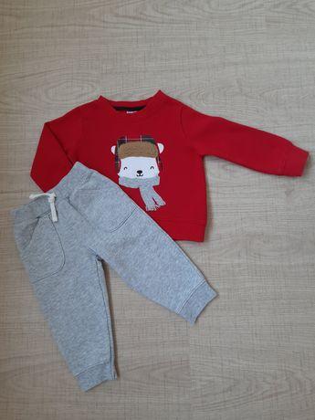 Детский теплый костюм набор комплект Carters