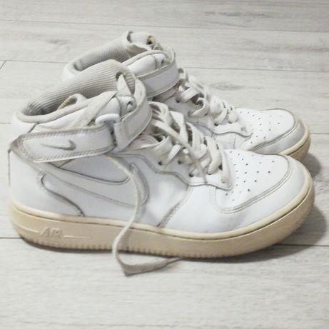 Nike air force białe white high wysokie
