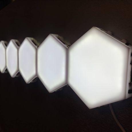 Модульный LED лампа светильник сенсорный 3Decor Quantum 5 шт белый