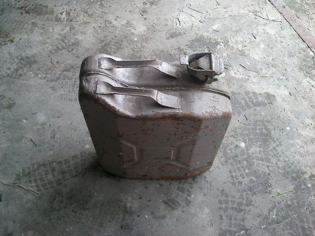 Kanister Na Paliwo Metalowy