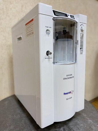 Кислородный концентратор 5 л 16000 гр В наличии НОВЫЙ маска в подарок