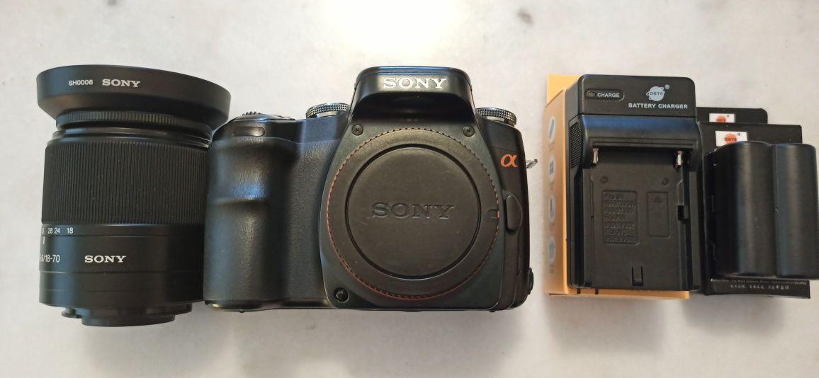 Sony A100 N50 + NIKON 1 J1
