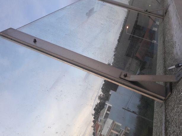 Vedação vidro pátio terraço
