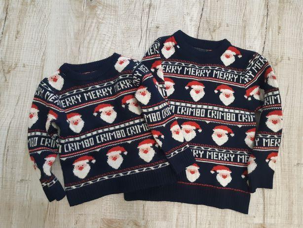 Family look Новогодний свитер Next 2 и 6 лет