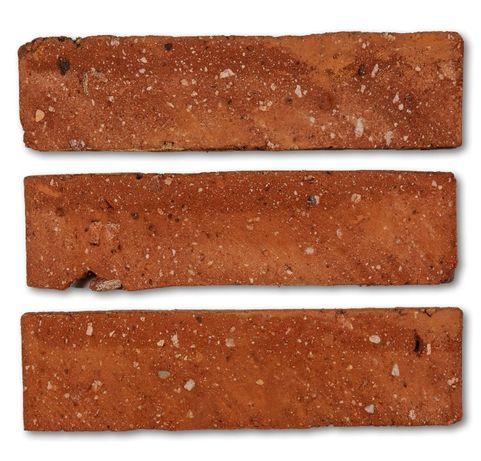 CZERWONA CEGŁA płytki z cegły ceglane środki kamień dekoracyjny serca