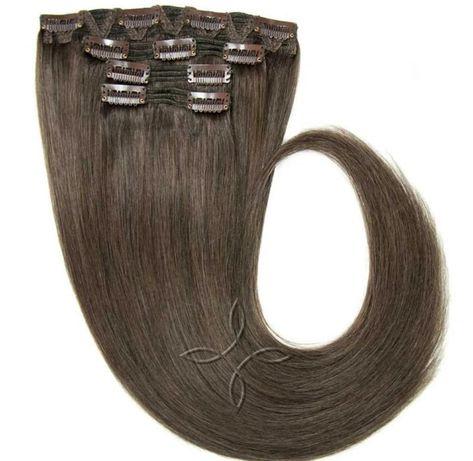 Продам натуральные волосы на заколках!