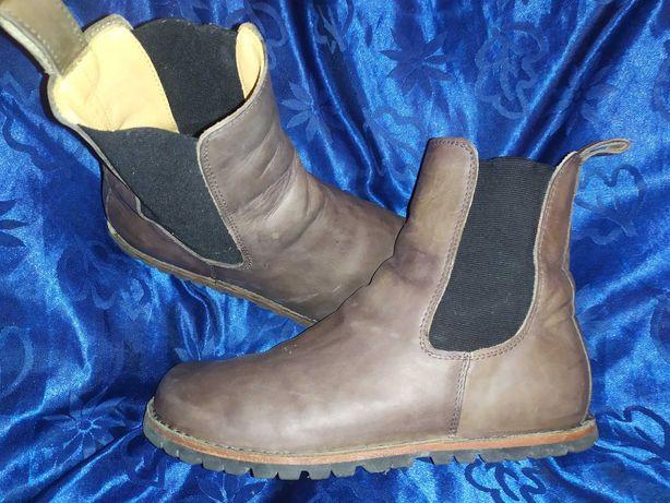 Ботинки ботильоны Челси кожаные 38