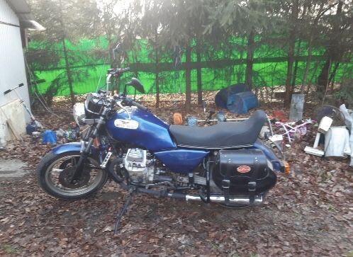 Moto Guzzi v750 przebieg 6000 tyś 2002