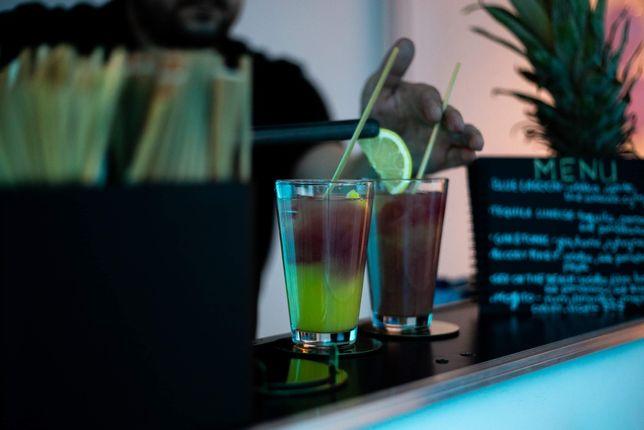 Barman Drink Bar/ Atrakcja/ Dron/ Dym/Love - wesele, ślub