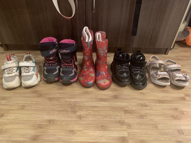 Обувь на девочку 29 размер