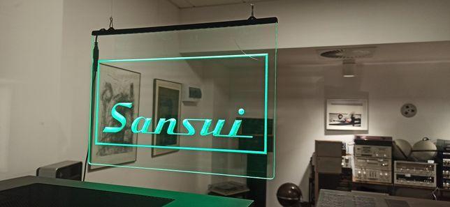 Sansui logo LED. Nowe. Prezent .