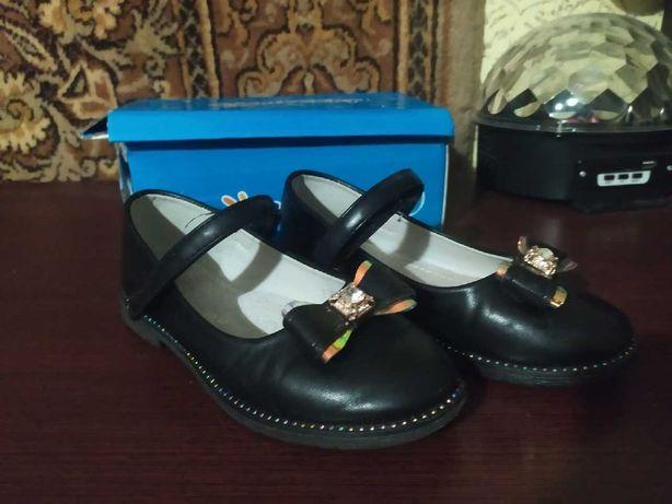 Туфли для девочки Bessky, 28 размер