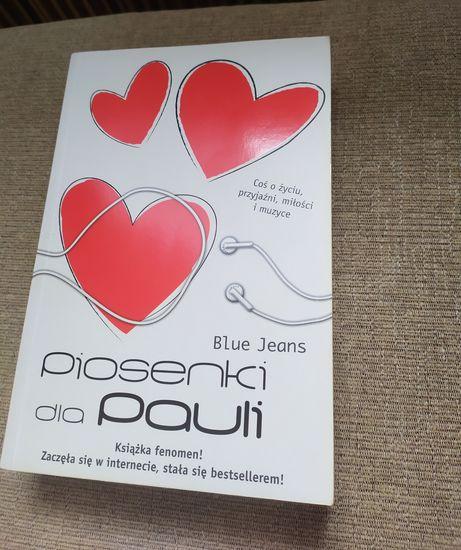 Blue Jeans - Piosenki dla Pauli - young adult, młodzieżowa