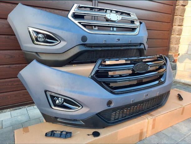 Бампер передний на Ford Edge 2015-2020