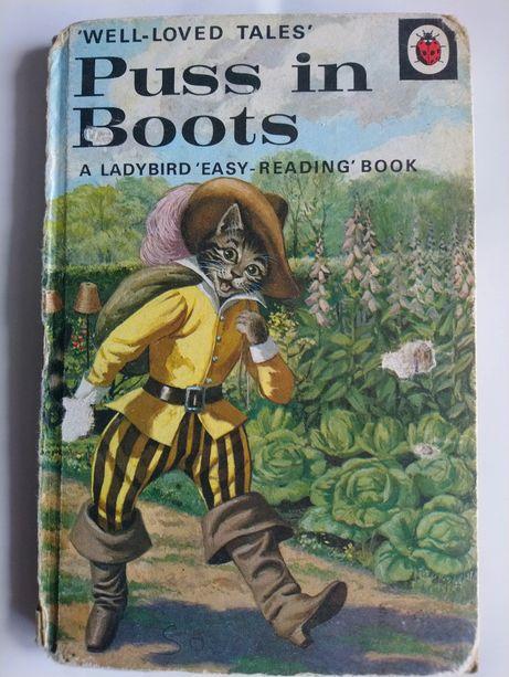 Книга на англійській мові Puss in Boots Ladybird