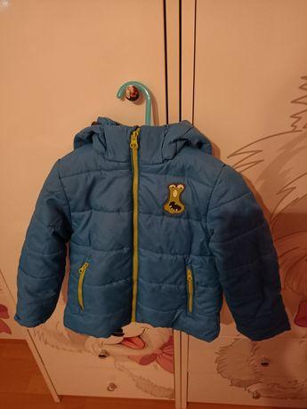 Zimowa kurtka chłopięca r. 92